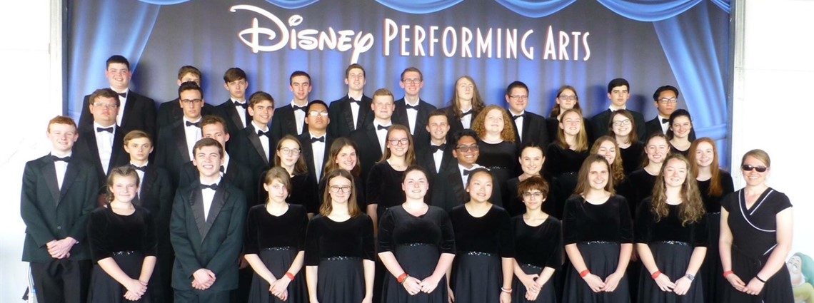 Great pictures of the orchestra students on stage at the Disney Performing Arts center. Great job!